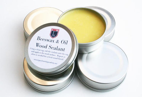 Organic Beeswax Wood Finish