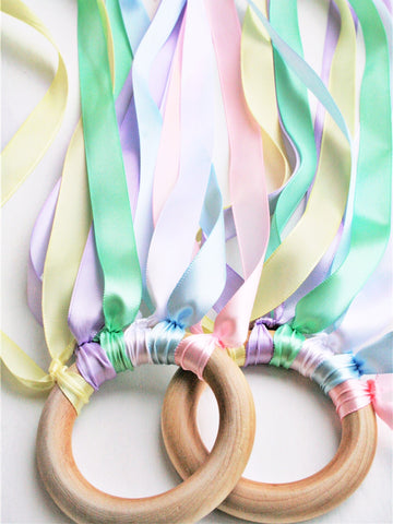 Hand Kites - Set of 2 - Pastel Rainbow