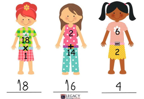 Paper Doll Boutique - Math