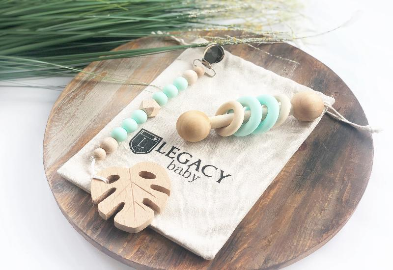 Mint Leaf Baby Gift Set