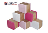 Wooden Building Blocks - Pinks - Set of 6