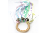 Hand Kite - Pastel Rainbow Bells