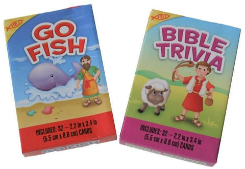 Set of 2 Christian Education Card Games