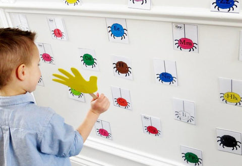Silly Spider Splat - Letters
