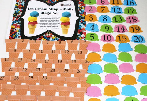 Ice Cream Shop - Math