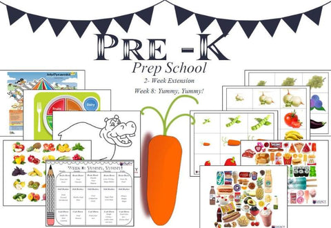 Pre-K Prep School Two Week Extension