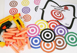 Nerf Target Practice - Colors