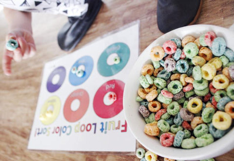 Fruit Loop Snack Mat