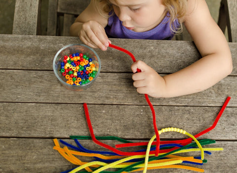 Rainbow Pipe Cleaner Activity