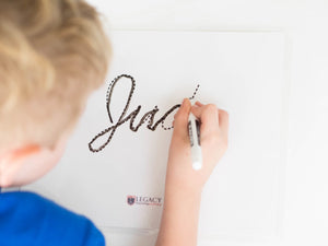 Personalized Name Writing Set - Cursive