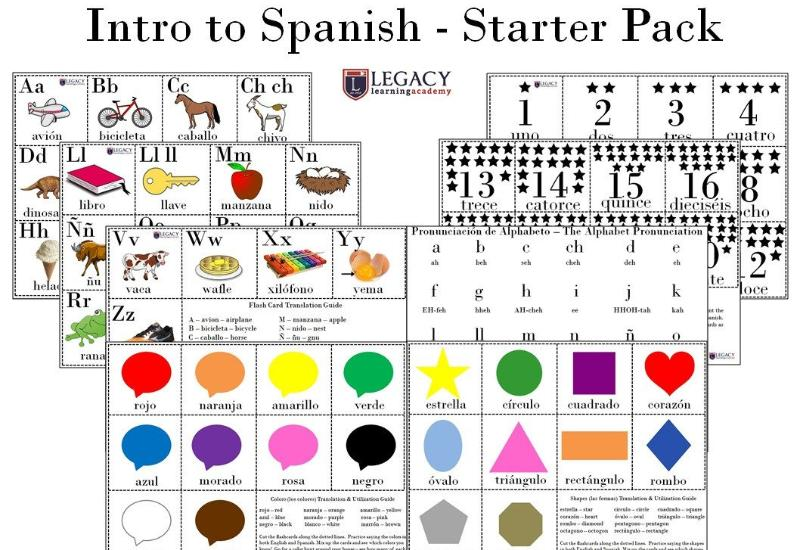 Spanish Language Starter Set