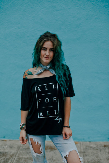 All for All Inspirational t-shirt