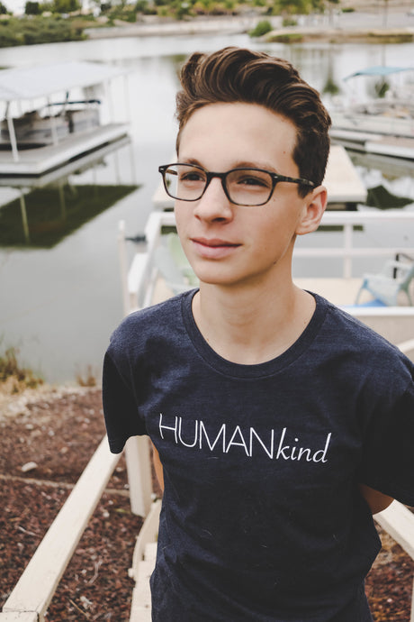 Men's statement t-shirt HumaniTee Brand