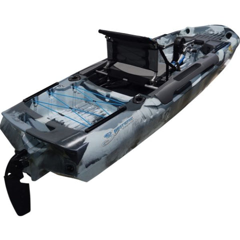 3 Waters Big Fish 108 Pedal Drive Fishing Kayak Package - Eco Fishing Shop
