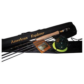American Explorer Fly Fishing Rod