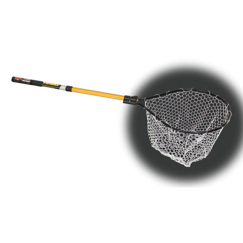 Frabill Clear Rubber Conservation Net - Eco Fishing Shop