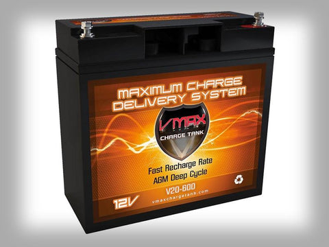 VMAX V20-600 Deep Cycle Battery - Eco Fishing Shop