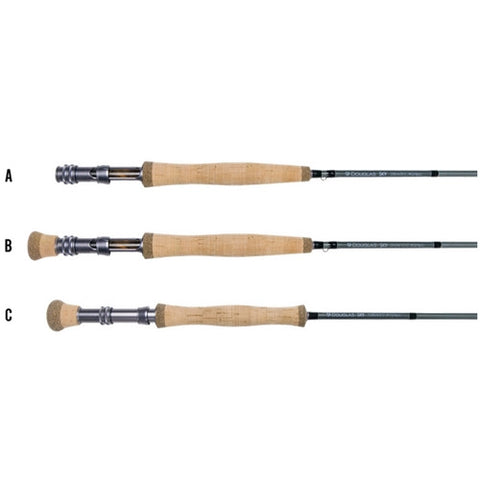Douglas SKY Series Fly Rod - 2 Weight-12 Weight 4 Piece Fly Rods - Eco Fishing Shop