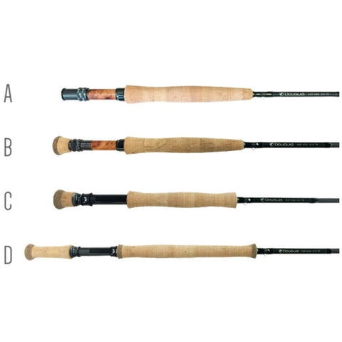 Douglas DXF Series Fly Rod - 3 Weight-12 Weight Fly Rods - Eco Fishing Shop
