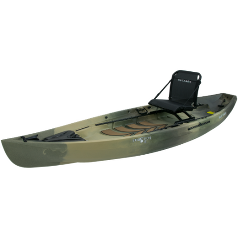 NuCanoe Frontier 12 Fishing Kayak Package
