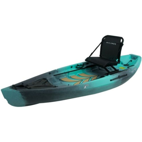 NuCanoe Frontier 10 Fishing Kayak Package - Eco Fishing Shop