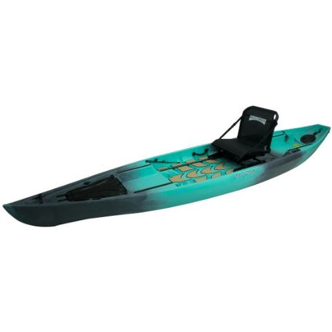 NuCanoe Pursuit Fishing Kayak Package - Eco Fishing Shop