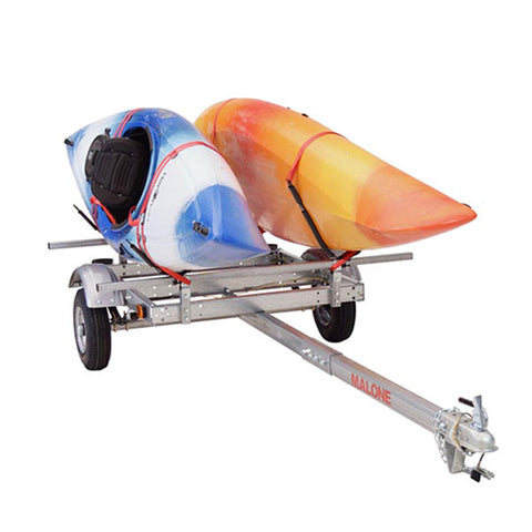 Malone EcoLight 2 Boat J-Rack Kayak Trailer Package