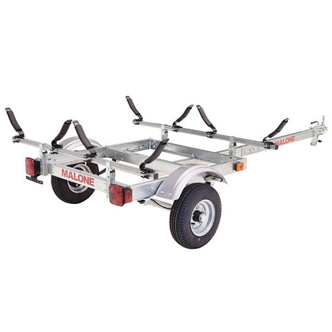 Malone EcoLight 2 Boat Kayak Trailer Package