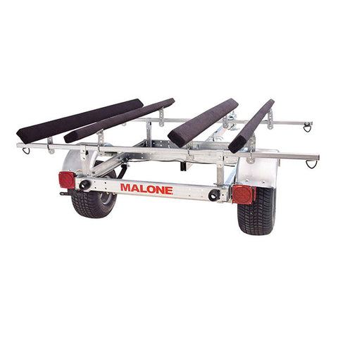 Malone LoxMax 2 Kayak Trailer Package
