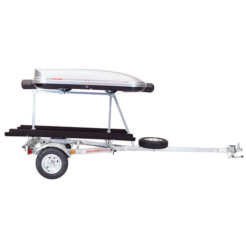 Malone MicroSport LowBed 2 Kayak w/ 2nd Tier Trailer Package