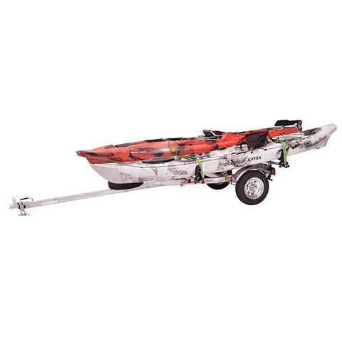 Malone MicroSport 2 Kayak Spare Tire Trailer Package
