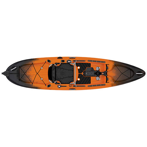 Old Town Sportsman Salty PDL 120 Fishing Kayak - Eco Fishing Shop