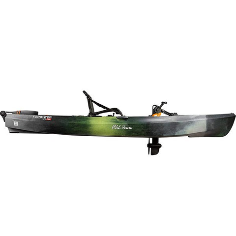 Old Town Topwater 120 PDL Fishing Kayak - Eco Fishing Shop