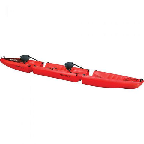 Point 65 Falcon Tandem Red Kayak