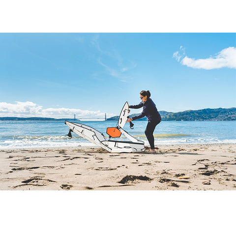 Oru Kayak The Beach LT Folding Kayak - Eco Fishing Shop