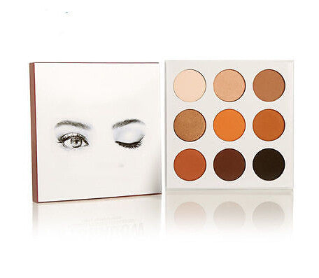 Warm Eyes 9 Eyeshadow Palette