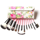 Field of Roses 12 Piece Wrap Brush