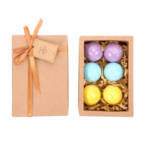 Pampering Time 6 Piece Medium Bath Bomb