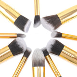 Her Empire 10 Piece Wrap Brush