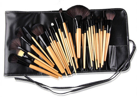 Nature Ebony 32 Piece Makeup Brush