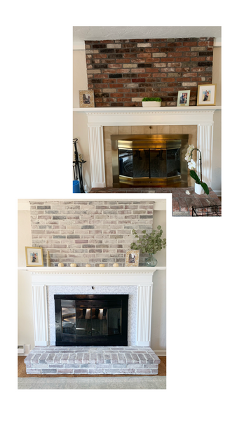 StephieChic at Home: DIY Fireplace Makeover