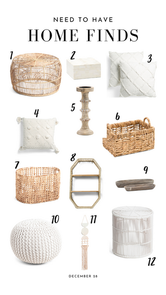 Budget Friendly Home Finds - Neutral Edition!