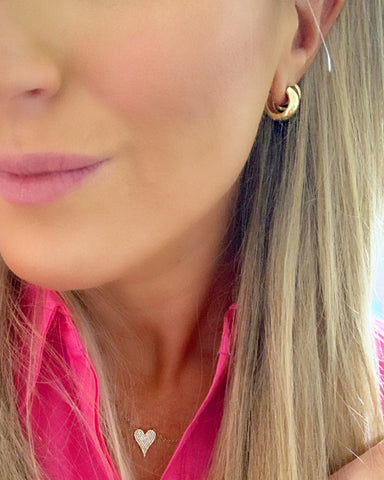 StephieChic Gold Huggie Delicate Gold Earrings
