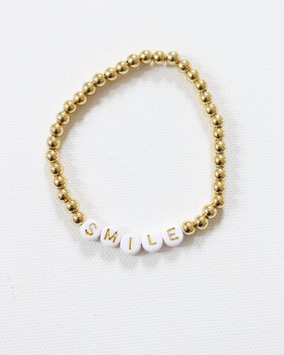 Charity Collection: 'Smile' Bracelet for The MW Fund