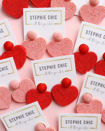 Penelope Heart Earrings