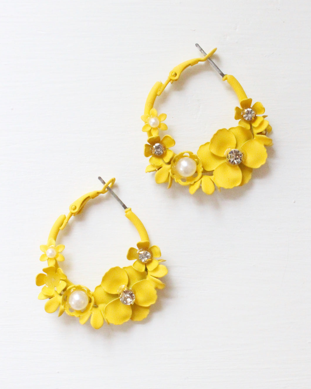 Charity Collection: Ali Flower Earrings for Caring For A Cure