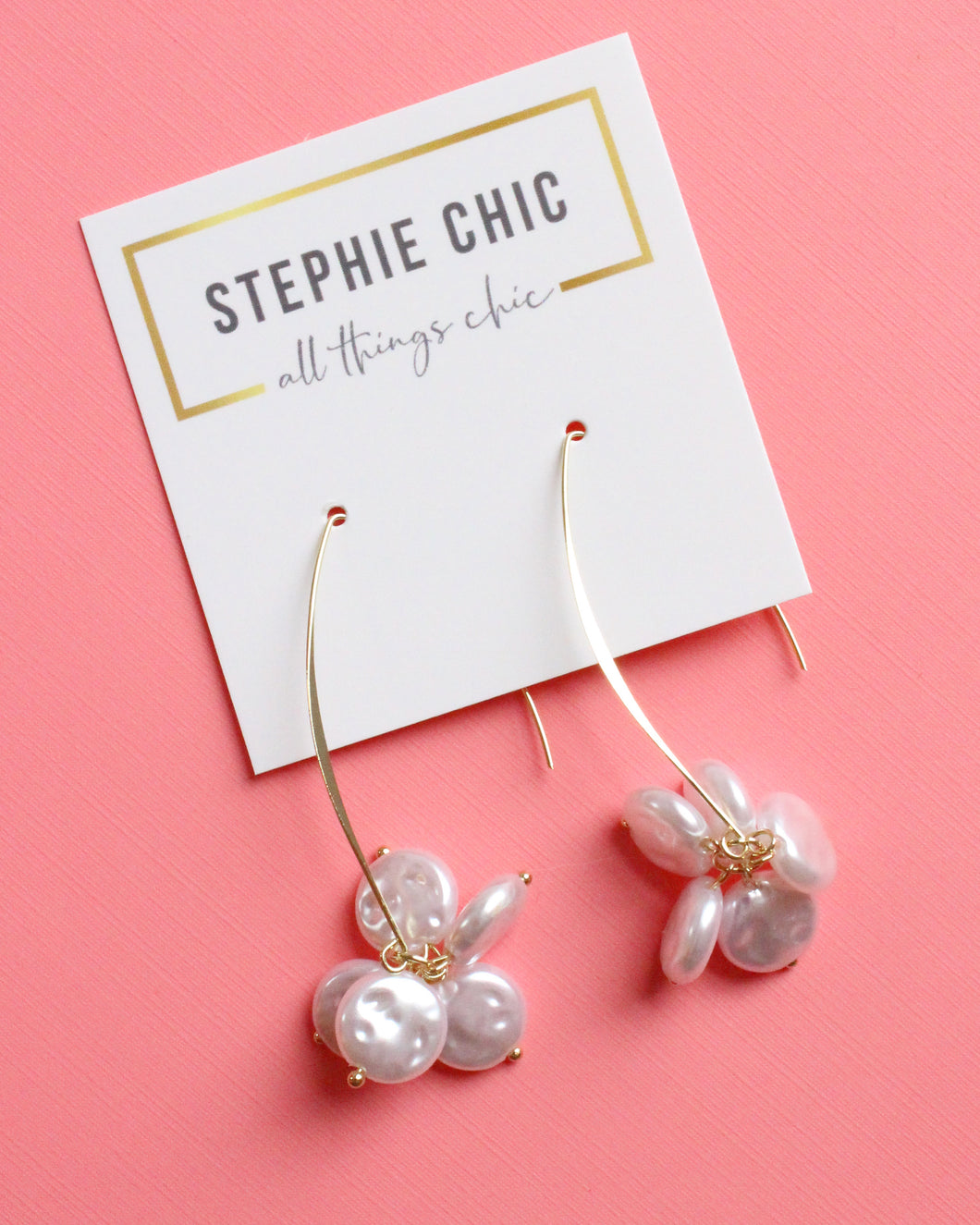 Avery Pearl Drop Earring