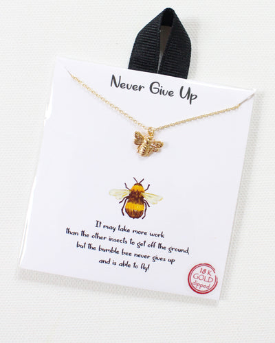 Charity Collection: Bee Strong Necklace for The MW Fund