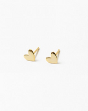 Charity Collection: Heart Studs for Caring For A Cure