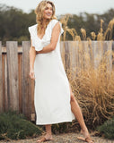 Surplus Bamber Dress White Stripe